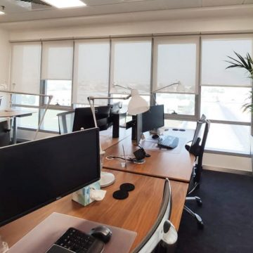 Sunscreen-Roller-Blinds-In-Office-Area